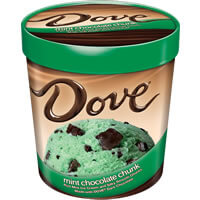 Dove Mint Chocolate Chip Pint